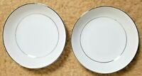 """Pair of Crown Victoria Lovelace 5.5"""" Fruit/Berry Bowls - Japan Fine China """"H"""""""