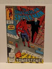 The Spectacular Spider-Man #142 September 1988 Marvel Comics TOMBSTONE