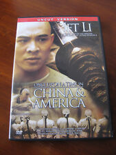 Once Upon A Time In China and America Jet Li Uncut German DVD PAL Region 2
