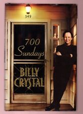 700 SUNDAYS-GREAT ACTOR/ACADEMY AWARD HOST  BILLY CRYSTAL SIGNED HB 1ST