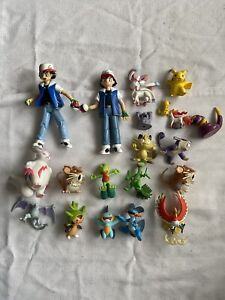 Pokemon Figures Bundle TOMY Vintage Lot Ash Ponyta, Pikachu