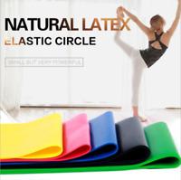 Resistance Bands Loop Set Fitness Yoga Gym Leg Strength Training Exercise Band