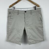 G Star Mens Cargo Shorts Size 34 Beige