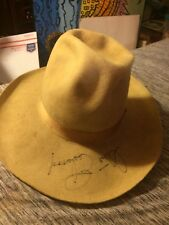 CLINT EASTWOOD HAND SIGNED AUTOGRAPHED COWBOY WESTERN HAT