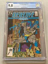 DETECTIVE COMICS #585 CGC 9.8 WHITE PAGES BATMAN RATCATCHER SUICIDE SQUAD 1988