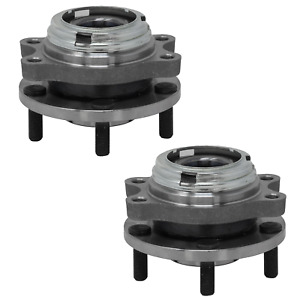 Pair-Front Wheel Bearing Hub Assembly Set 2003 -2007 Murano 2004 - 2009 QUEST