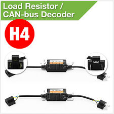 H4 9003 Car LED Load Resistor CAN Bus CANBus Pair Decoder Error Free Canceller