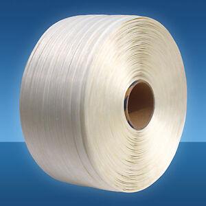 16 mm Textil-Umreifungsband, 850 m, 450 kg, Polyesterband für Umreifungsgerät