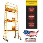 SCAFFOLDING 18 FT 'BUILDMASTER' W/Guard Rail &Outriggers Painting Drywall
