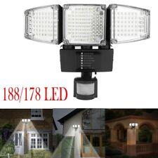 178/188LED Solar Outdoor Garden Motion Sensor Security Flood Light Well Lamp Lot