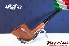 Pipa Pfeife Pipe Savinelli grezza semicurva cerata lucida 904 KS made in Italy
