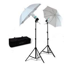 Photography Umbrella 400 watt Continuous Lighting Kit Video portrait Light set