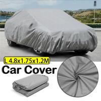L Size Universal Car Cover Waterproof Rain Sun Snow Ice UV Dust Resist  R F