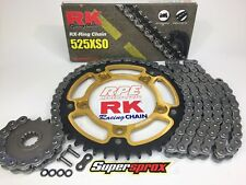 Suzuki GSXR750 2011-16 Supersprox / RK Quick Accel Chain and Sprockets Kit