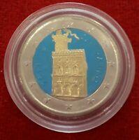 2 EUROS CONMEMORATIVOS DE SAN MARINO 2013 (RARA)