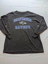 NFL Baltimore Ravens Men's L Tshirt Official Authentic Team Apparel Long Sleeve