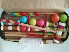"""Franklin Sports advanced 6 player 24"""" mallet outdoor croquet set & carrying case"""