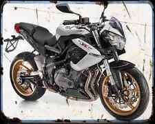 BENELLI Tornado Tre 1130 13 1 A4 Metal Sign moto antigua añejada De