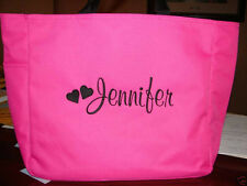 1 TOTE BAG BRIDESMAID FOR THE BRIDE ON A WEDDING BUDGET HEARTS ZIPPER ZIP shower