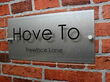 HOUSE ADDRESS SIGN / HOUSE PLAQUE SIGN / HOUSE NUMBER PLATE