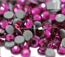 STRASS MC Stone collection 100pz SS16 4mm Fucsia fuxia rosa viola hotfix adesivi