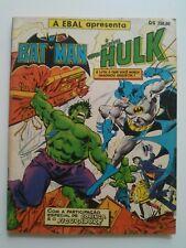 Batman vs Hulk (1982) - Ebal - Brasilianischer  DC Special Series 27 (1981)