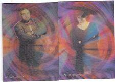 Sliders TV Show Trading Lenticular Motionworks Chase Card Set Of 2