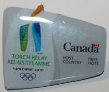 2010 Vancouver Winter Olympics Pin Torch Relay Host Country Canada