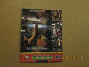 IHSA Vintage March Madness 2002 Class AA Boys Basketball St.Tournament Program