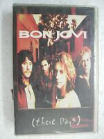 BON JOVI THESE DAYS RARE orig CLAMSHELL CASSETTE TAPE INDIA indian 1995
