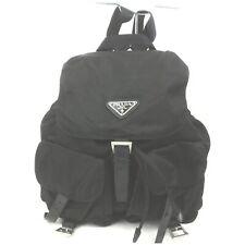 Prada Back Pack  Black Nylon 1602924