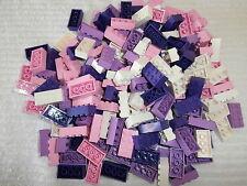 LEGO classique 180 pièces de construction 3001 blanc,rose clair,violet et clair