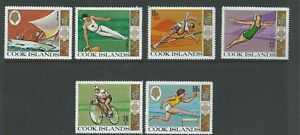 1968 Olympic Games - Mexico set 6 Stamps  complete MUH/MNH