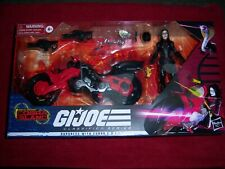 GI JOE Classified Series BARONESS With COBRA COIL BIKE TARGET EXCLUSIVE