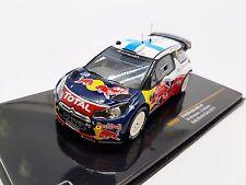 New IXO Model 1:43 Citroen DS3 WRC #2 Rally Monte Carlo 2012 RAM483
