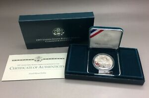 1997-P Proof United States Botanic Garden Commemorative Coin With COA