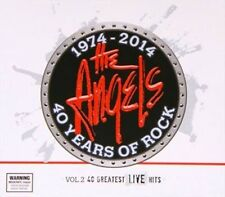 40 Years of Rock V2 Greatest Live Hits 2014 The Angels CD