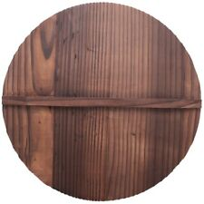 New listing Kitchen Multi-Functional Wooden Pot Cover Handle Pan Lid Eco-Friendly Anti-S hp