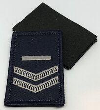 Police LBV Rank Patch #3, Dark Blue, NSW, VIC, WA, QLD, SA, NT, Hook Rear