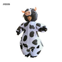 Inflatable Cow Costume Party Dresses for Women Cosplay Kids Carnival Fantasy