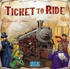 Ticket to Ride Base Game - Family Board Game - Brand New - Free Shipping
