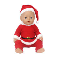 Christmas Doll Clothes Wear for 43cm Baby Born zapf (only sell clothes )