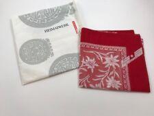 Heimatwerk Red Floral Handkerchief
