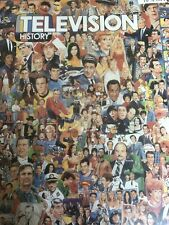 """White Mountain Puzzles American Television History 1000 PC Jigsaw Puzzle 24x30"""""""