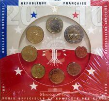 014 - COFFRET BU - EUROS FRANCE  - 2010 : sous blister