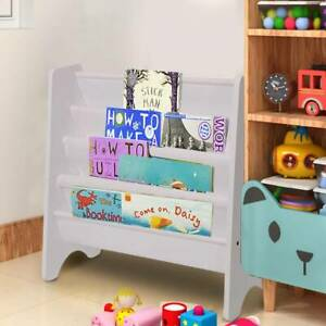 UK Children Kids Bookcase Bookshelf Storage Book Shelf Children Rack Toddler Toy
