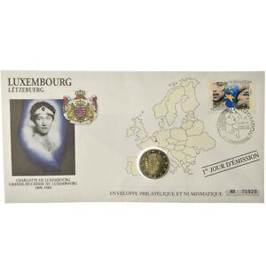[#487290] Luxembourg, 2 Euro, 2005, Enveloppe philatélique numismatique, SPL, Bi