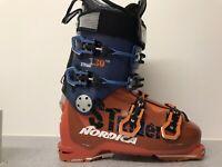 Freeride Ski Stiefel Herren Nordica Strider Pro 130, Grösse 27,0 einmal gefahren
