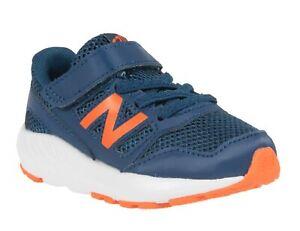 New Balance 570, Sneakers Bambino Navy/Orange, Strappo, Scarpe Sportive Casual