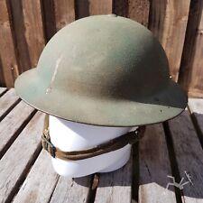 "Original ww2 British Home front helmet - HOME GUARD 1941 dated MKII ""2b"""